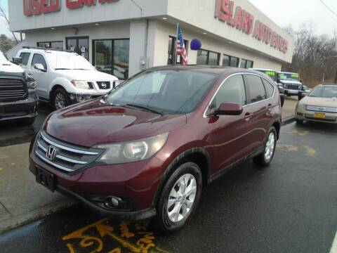 2012 Honda CR-V for sale at Island Auto Buyers in West Babylon NY