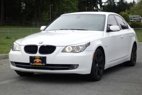 2008 BMW 5 Series for sale at West Coast Auto Works in Edmonds WA
