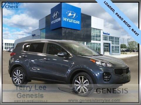 2017 Kia Sportage for sale at Terry Lee Hyundai in Noblesville IN