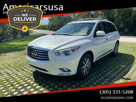 2014 Infiniti QX60 for sale at Americarsusa in Hollywood FL