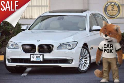 2012 BMW 7 Series for sale at JDM Auto in Fredericksburg VA