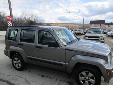 2012 Jeep Liberty for sale at ROUTE 119 AUTO SALES & SVC in Homer City PA