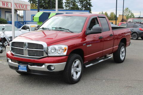 2008 Dodge Ram Pickup 1500 for sale at BAYSIDE AUTO SALES in Everett WA