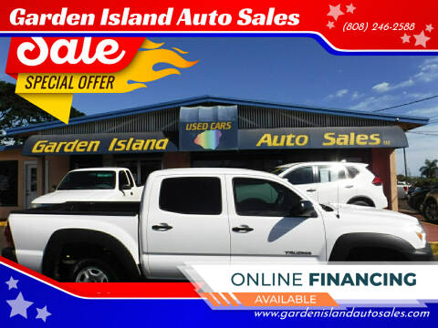 2013 Toyota Tacoma for sale at Garden Island Auto Sales in Lihue HI