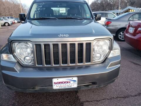 2012 Jeep Liberty for sale at Gordon Auto Sales LLC in Sioux City IA