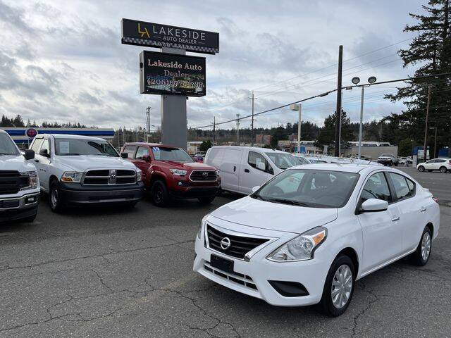2019 Nissan Versa for sale at Lakeside Auto in Lynnwood WA