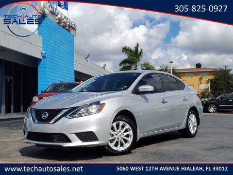 2019 Nissan Sentra for sale at Tech Auto Sales in Hialeah FL