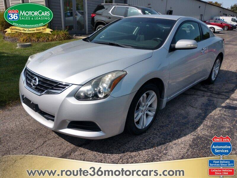 2012 Nissan Altima for sale at ROUTE 36 MOTORCARS in Dublin OH