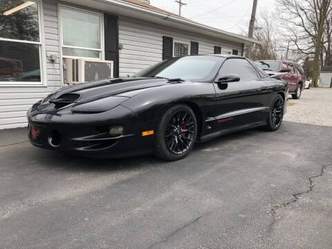 2001 Pontiac Trans Am for sale at The Car Mart in Milford IN