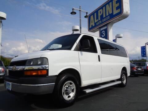 2011 Chevrolet Express Passenger for sale at Alpine Auto Sales in Salt Lake City UT