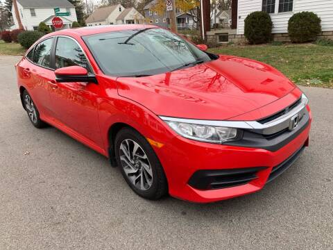 2016 Honda Civic for sale at Via Roma Auto Sales in Columbus OH