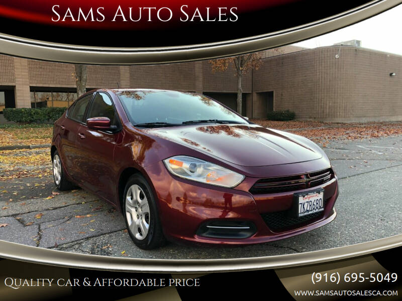 2015 Dodge Dart for sale at Sams Auto Sales in North Highlands CA