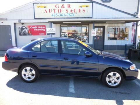 2005 Nissan Sentra for sale at G&R Auto Sales in Lynnwood WA