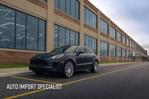2017 Porsche Macan for sale at Auto Import Specialist LLC in South Bend IN