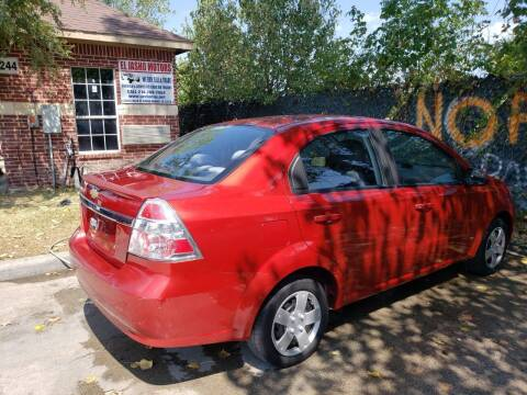 2010 Chevrolet Aveo for sale at El Jasho Motors in Grand Prairie TX
