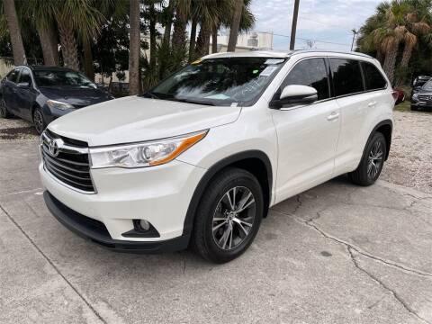 2016 Toyota Highlander for sale at Florida Fine Cars - West Palm Beach in West Palm Beach FL