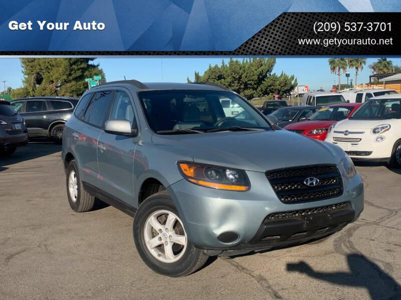 2008 Hyundai Santa Fe for sale at Get Your Auto in Ceres CA