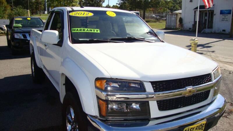 2012 Chevrolet Colorado for sale at Easy Ride Auto Sales Inc in Chester VA