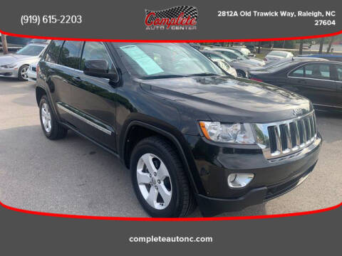 2011 Jeep Grand Cherokee for sale at Complete Auto Center , Inc in Raleigh NC