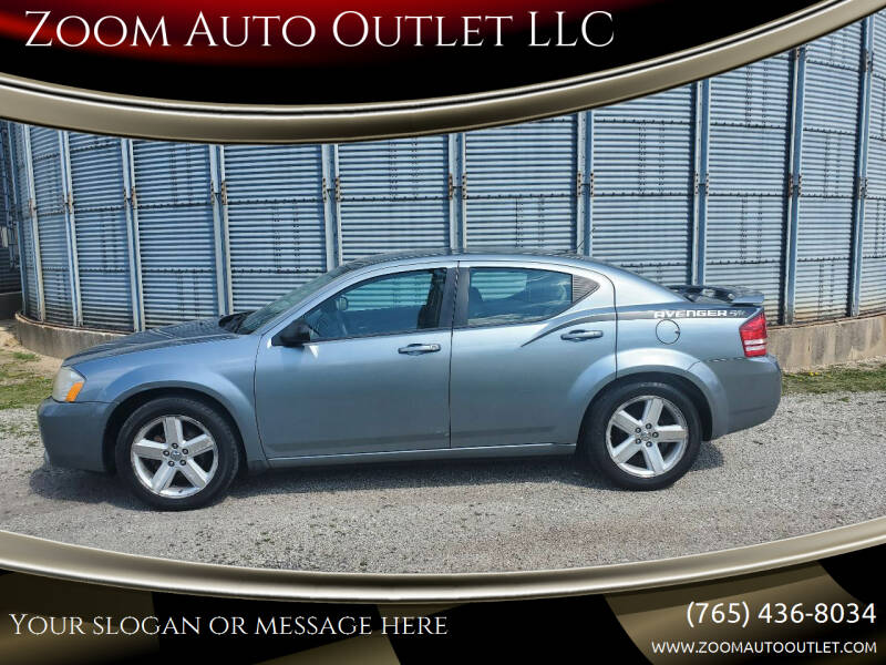 2008 Dodge Avenger for sale at Zoom Auto Outlet LLC in Thorntown IN