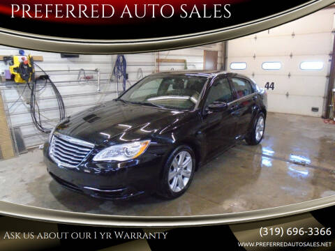 2013 Chrysler 200 for sale at PREFERRED AUTO SALES in Lockridge IA