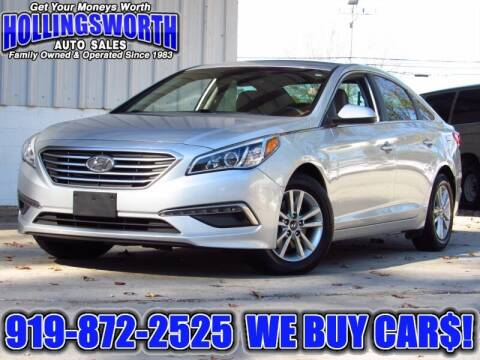 2015 Hyundai Sonata for sale at Hollingsworth Auto Sales in Raleigh NC