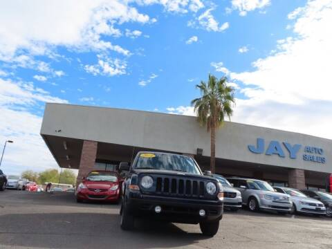 2014 Jeep Patriot for sale at Jay Auto Sales in Tucson AZ