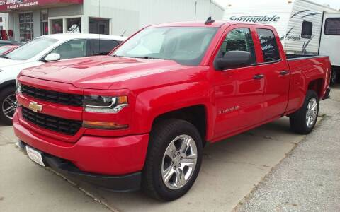 2016 Chevrolet Silverado 1500 for sale at Bob's Garage Auto Sales and Towing in Storm Lake IA