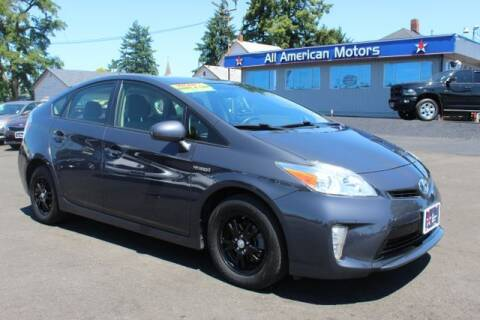 2015 Toyota Prius for sale at All American Motors in Tacoma WA