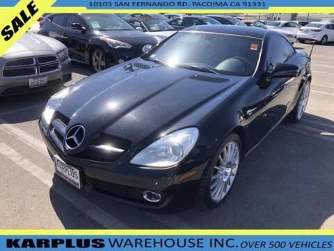 2009 Mercedes-Benz SLK for sale at Karplus Warehouse in Pacoima CA