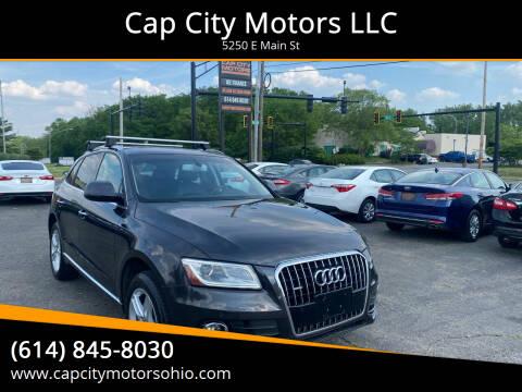 2015 Audi Q5 for sale at Cap City Motors LLC in Columbus OH
