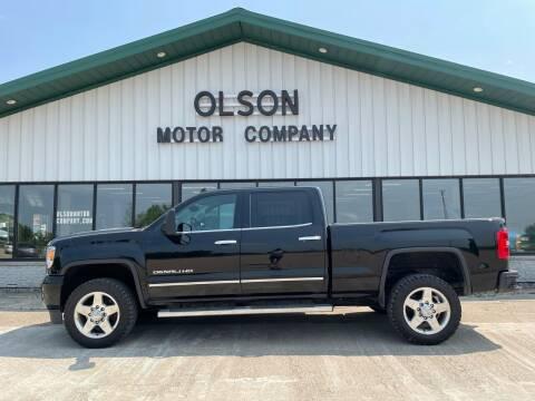 2015 GMC Sierra 2500HD for sale at Olson Motor Company in Morris MN