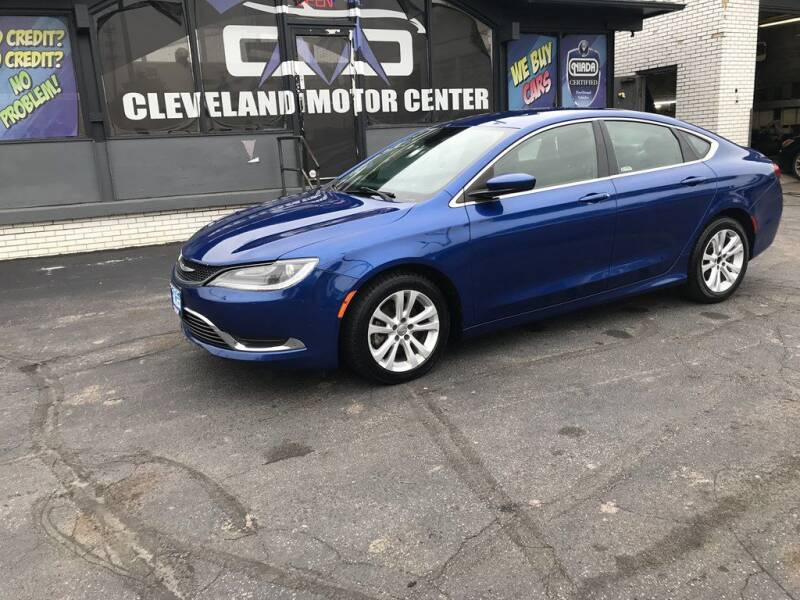 2015 Chrysler 200 for sale in Cleveland, OH