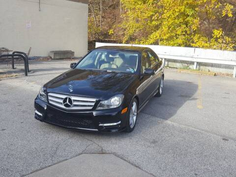 2013 Mercedes-Benz C-Class for sale at FAYAD AUTOMOTIVE GROUP in Pittsburgh PA