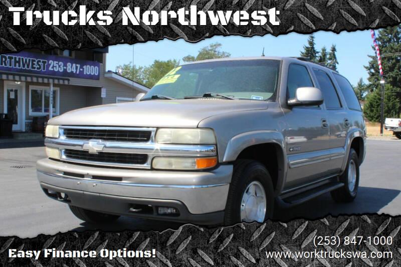 2002 Chevrolet Tahoe for sale at Trucks Northwest in Spanaway WA