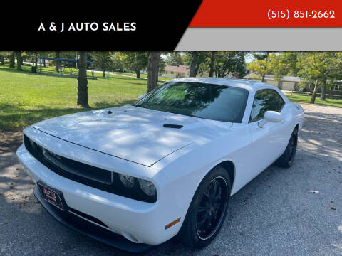 2012 Dodge Challenger for sale at A & J AUTO SALES in Eagle Grove IA