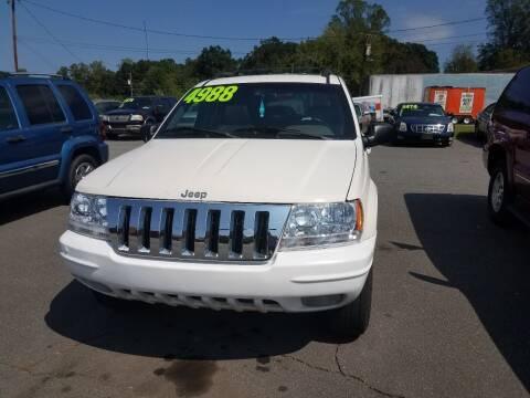 2000 Jeep Grand Cherokee for sale at Wheel'n & Deal'n in Lenoir NC