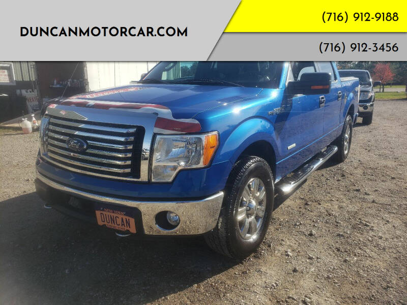 2011 Ford F-150 for sale at DuncanMotorcar.com in Buffalo NY