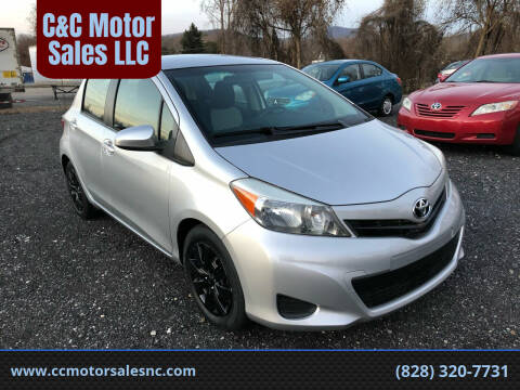 2014 Toyota Yaris for sale at C&C Motor Sales LLC in Hudson NC