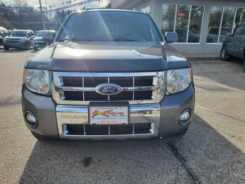 2010 Ford Escape for sale at Extreme Auto Sales LLC. in Wautoma WI