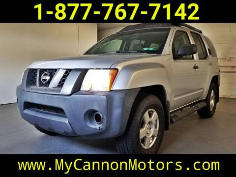 2008 Nissan Xterra for sale at Cannon Motors in Silverdale PA