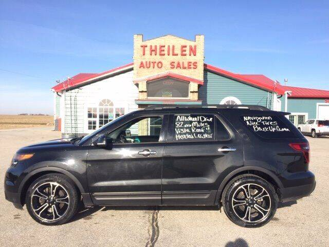2014 Ford Explorer for sale at THEILEN AUTO SALES in Clear Lake IA