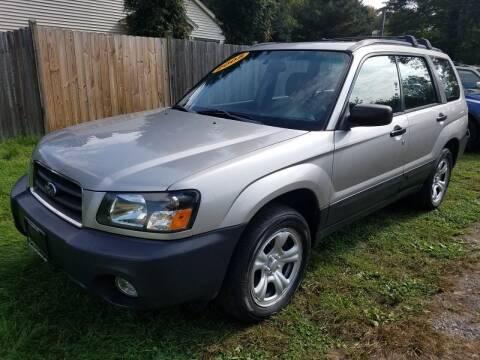2005 Subaru Forester for sale at ALL Motor Cars LTD in Tillson NY