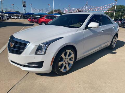 2016 Cadillac ATS for sale at JOHN HOLT AUTO GROUP, INC. in Chickasha OK