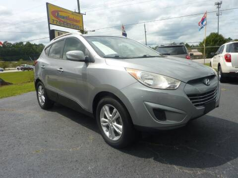 2012 Hyundai Tucson for sale at Roswell Auto Imports in Austell GA