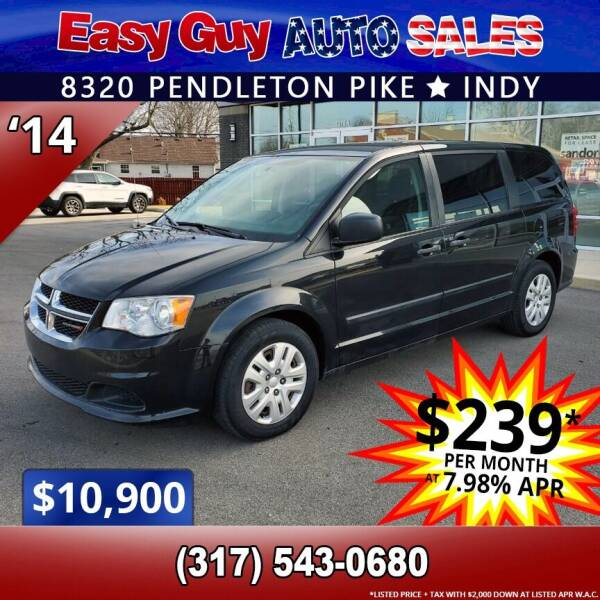 2014 Dodge Grand Caravan for sale at Easy Guy Auto Sales in Indianapolis IN