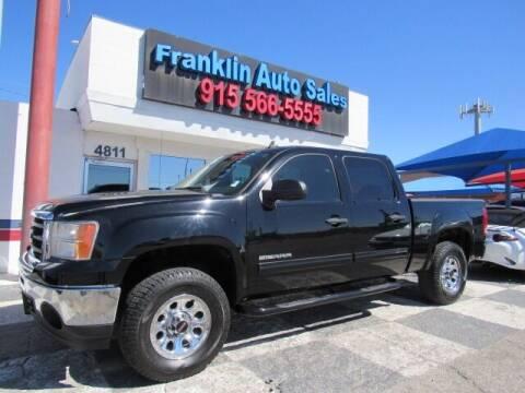 2010 GMC Sierra 1500 for sale at Franklin Auto Sales in El Paso TX