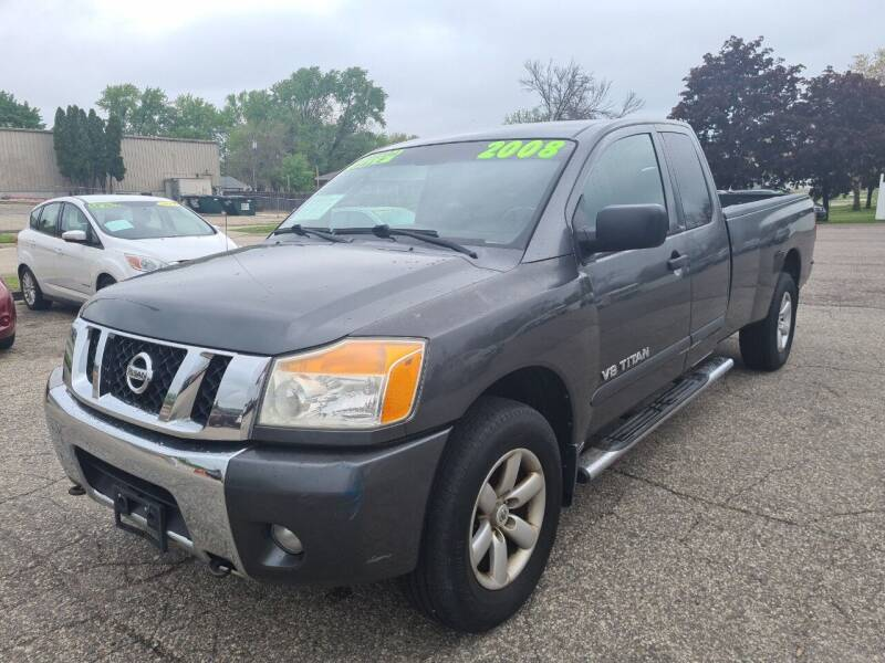 2008 Nissan Titan for sale at River Motors in Portage WI