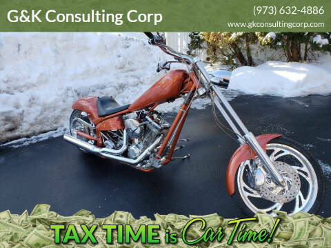 2005 AMERICAN IRONHORSE TEXAS CHOPPER for sale at G&K Consulting Corp in Fair Lawn NJ