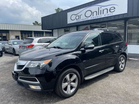 2013 Acura MDX for sale at Car Online in Roswell GA